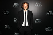 Diego Forlan  arrives for The Best FIFA Football Awards - Green Carpet Arrivals on October 23, 2017 in London, England.