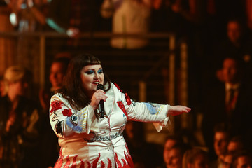 Beth Ditto Germany's Next Topmodel Finals in Oberhausen