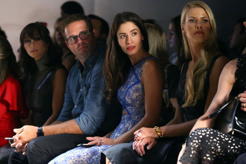 Beth Ostrosky Stern Angel Sanchez - Front Row - Spring 2016 New York Fashion Week: The Shows