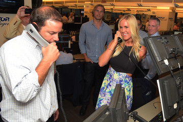 Bethany Hamilton Annual Charity Day Hosted By Cantor Fitzgerald And BGC - Cantor Fitzgerald Office - Inside