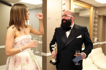 Betsy Brandt 18th Costume Designers Guild Awards - Backstage and Green Room