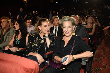 Bette Midler Sophie von Haselberg Marc Jacobs - Front Row - Spring 2016 New York Fashion Week