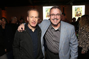 "Bob Odenkirk and Vince Gilligan attend the premiere of AMC's ""Better Call Saul"" Season 5 After Party on February 05, 2020 in Los Angeles, California."
