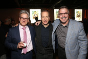 "Peter Gould, Bob Odenkirk and Vince Gilligan attend the premiere of AMC's ""Better Call Saul"" Season 5 After Party on February 05, 2020 in Los Angeles, California."