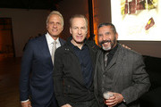 """Patrick Fabian, Bob Odenkirk and Steven Michael Quezada attend the Premiere of AMC's """"Better Call Saul"""" Season 5 on February 05, 2020 After Party in Los Angeles, California."""