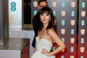 Betty Bachz EE British Academy Film Awards - Red Carpet Arrivals