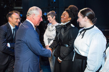 Beverley Knight The Prince Of Wales Visits The Old Vic Theatre
