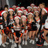 Giuliana Rancic Photos - TV host Giuliana Rancic poses with Beverly Hills High School Cheerleaders at the Beverly Hills Holiday Lighting Ceremony on Rodeo Drive on November 22, 2015 in Beverly Hills, California. - Beverly Hills Holiday Lighting Ceremony on Rodeo Drive