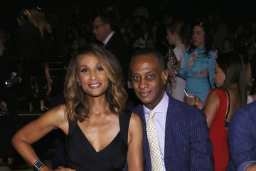 Beverly Johnson Herve Leger by Max Azria - Front Row - Spring 2016 New York Fashion Week: The Shows