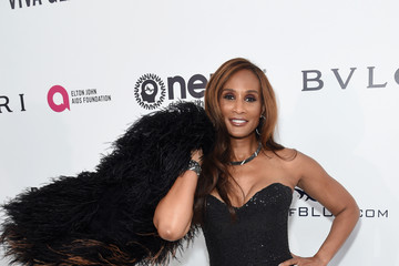 Beverly Johnson 25th Annual Elton John AIDS Foundation's Oscar Viewing Party - Red Carpet