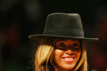 Beyonce Knowles Houston Rockets v Brooklyn Nets
