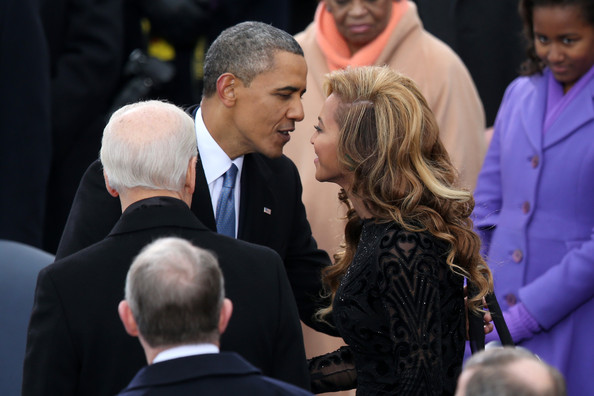 Beyonce Knowles - Barack Obama Sworn In As U.S. President For A Second Term