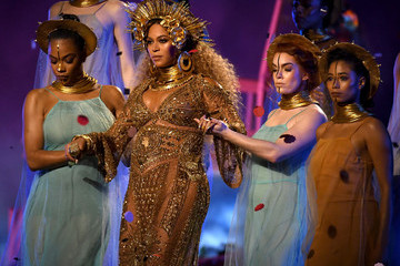 Beyonce Knowles The 59th GRAMMY Awards - Show