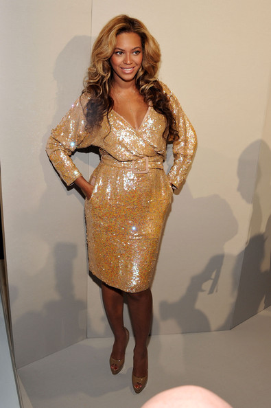 Beyonce Knowles - Theyskens' Theory - Front Row - Spring 2012 Mercedes-Benz Fashion Week