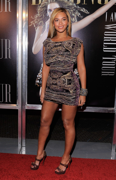 "Beyonce Knowles Singer Beyonce Knowles attends a screening of ""I AM...World Tour"" at the School of Visual Arts Theater on November 21, 2010 in New York City."