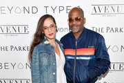 Raquel Horn (L) and entrepreneur Damon Dash attend the Beyond LA Cocktail Party Benefiting Beyond Type 1 at The Avenue on May 5, 2017 in Hollywood, California.