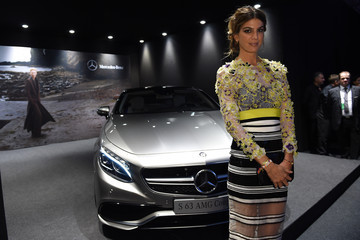 Bianca Brandolini D'Adda Mercedes-Benz At amfAR Milano 2014 - Milan Fashion Week Womenswear Spring/Summer 2015