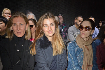 Bianca Brandolini Front Row at the Moncler Gamme Rouge Show