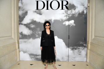Bianca Jagger Christian Dior  : Photocall - Paris Fashion Week - Haute Couture Fall/Winter 2019/2020