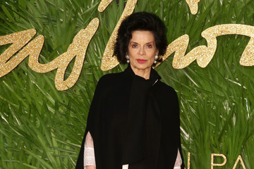 Bianca Jagger The Fashion Awards 2017 in Partnership With Swarovski - Red Carpet Arrivals