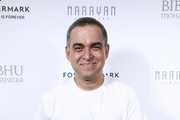 Bibhu Mohapatra poses backstage for the Bibhu Mohapatra fashion show during February 2020 - New York Fashion Week: The Shows at Gallery II at Spring Studios on February 11, 2020 in New York City.