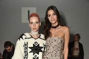 Designer Mery Racauchi and Actress Sofia Resing attend Bibhu Mohapatra Fashion Show during February 2017 - New York Fashion Week: The Shows at Gallery 3, Skylight Clarkson Sq on February 15, 2017 in New York City.