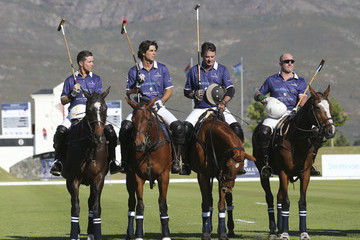 Bill Ballhaus Sentebale Royal Salute Polo Cup in Cape Town with Prince Harry - Polo