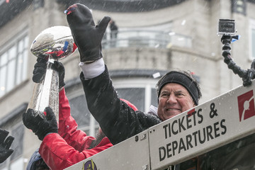 Bill Belichick New England Patriots Victory Parade