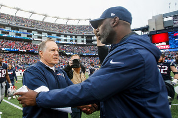 Bill Belichick Los Angeles Chargers vNew England Patriots