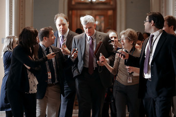 Bill Cassidy Senate Republicans Hold Conference Meeting to Discuss Tax Reform