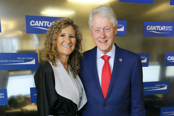 Bill Clinton Annual Charity Day Hosted By Cantor Fitzgerald, BGC, And GFI - Cantor Fitzgerald Office - Inside