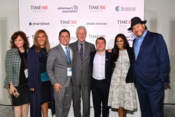 TIME 100 Health Summit [event,award,white-collar worker,businessperson,employment,company,job,tourism,business,management,bill clinton,marc benioff,editor-in-chief,ceo,members,edward felsenthal,time 100 health summit,c,u.s.,time]