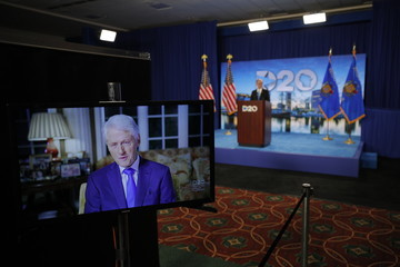 Bill Clinton Democrats Hold Unprecedented Virtual Convention From Milwaukee