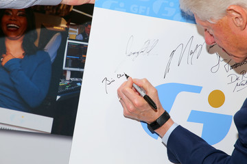 Bill Clinton Annual Charity Day Hosted By Cantor Fitzgerald, BGC, And GFI - GFI Office - Arrivals