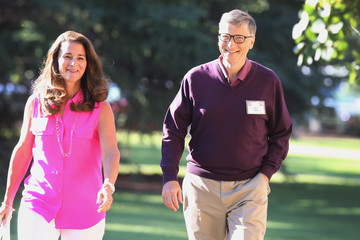 Bill Gates Melinda Gates Allen and Company Annual Meeting