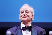 Bill Murray attends the masterclass during the 14th Rome Film Festival on October 19, 2019 in Rome, Italy.
