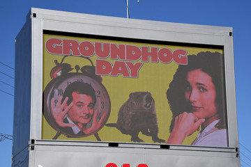 Bill Murray Las Vegas Groundhog Day Celebration