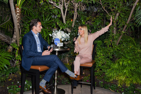 G By Giuliana/HSN New Collection Launch Event [botany,event,adaptation,sitting,leisure,giuliana rancic,bill rancic,g,beverly hills hotel,california,hsn new collection launch event]