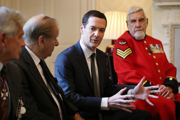 Bill Speakman The Chancellor Hosts a Reception for Victoria Cross and George Cross Veterans