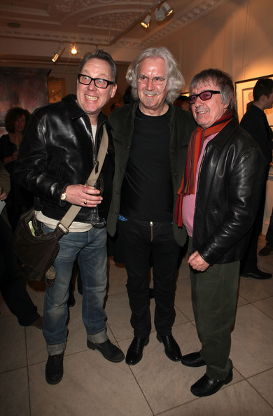 Bill Wyman - Billy Connolly Unveils His Debut Art Collection