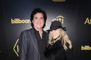 CEO of Big Machine Records Scott Borchetta (L) and SVP Creative of Big Machine Label Group Sandi Spika Borchetta attends 2018 Billboard Power 100 on January 25, 2018 at Nobu 57 in New York City.
