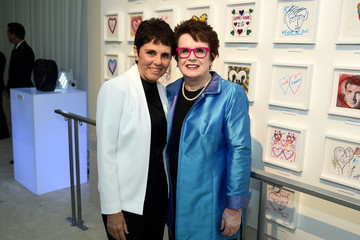 Billie Jean King 26th Annual Elton John AIDS Foundation Academy Awards Viewing Party sponsored by Bulgari, celebrating EJAF and the 90th Academy Awards - Red Carpet