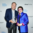 Billie Jean King The Women's Sports Foundation's 40th Annual Salute To Women In Sports Awards Gala - Inside