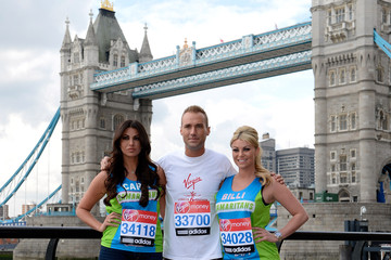 Billie Mucklow 2012 Virgin London Marathon - Celebrity Photocall