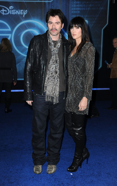 Actor Billy Burke and Pollyanna Rose arrives at Walt Disney's 'TRON: Legacy'