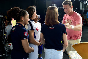 Billy Bush The 'Today' Show Gallery of Olympians