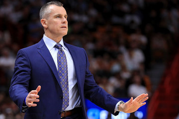 Billy Donovan Oklahoma City Thunder v Miami Heat