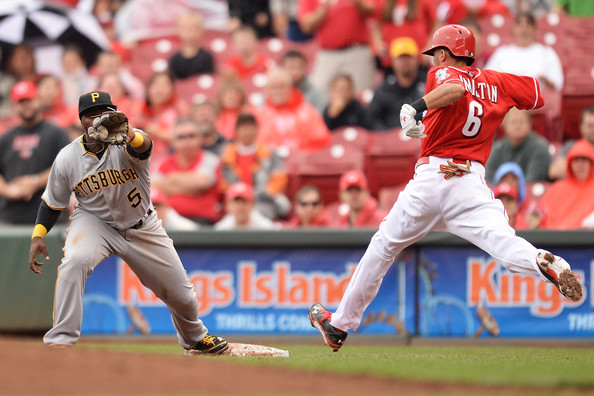 Billy Hamilton - Pittsburgh Pirates v Cincinnati Reds