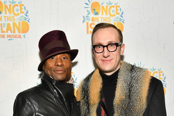 Billy Porter 'Once on This Island' Broadway Opening Night - Arrivals & Curtain Call