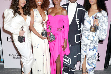Billy Porter Angelica Ross 2020 13th Annual ESSENCE Black Women in Hollywood Luncheon - Inside